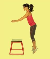 2 cách để luyện chân khỏe để chơi tennis: Nhảy bục 2