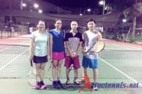 Các lớp tennis khai giảng tháng 6 - 2015
