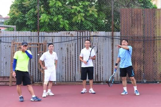 Đội Djokovic ở trò chơi thứ 3