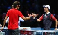 ATP World Tour Finals: Federer vs Nishikori