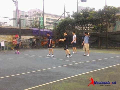 Học tennis tại Cầu giấy
