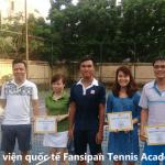 Chúc mừng lớp tennis cơ bản CB114 tốt nghiệp