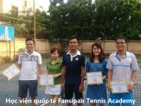 Học tennis tại Học viện Fansipan Tennis Academy