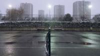 Choi tennis khi troi lanh, chơi tennis mùa đông