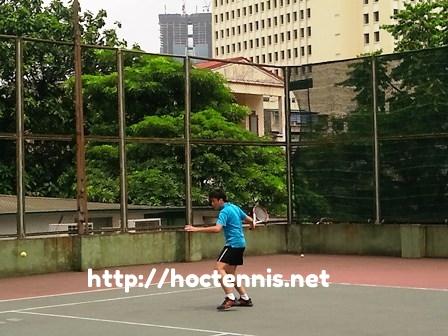 Lớp học tennis cơ bản ở Láng Hạ, Đống Đa, Hà nội