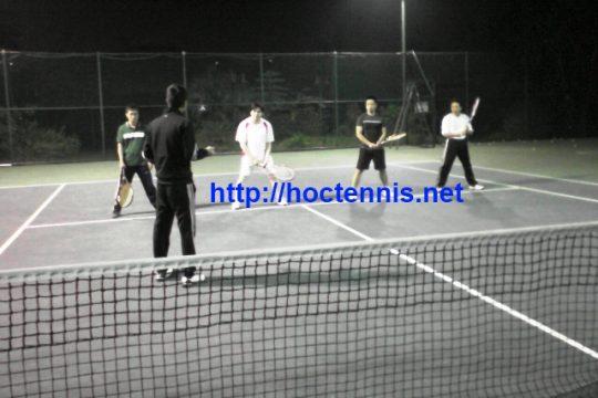 Lớp học tennis cơ bản CB29 ở Cầu Diễn, Hà nội