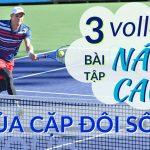 Học vô lê tennis đỉnh cao với cặp đôi tennis số 1 thế giới (Phần 2)
